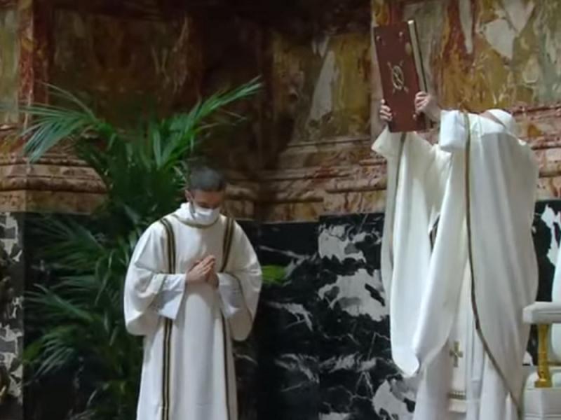 Homilía de Nochebuena del papa Francisco